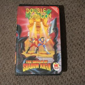 Double Dragon VHS